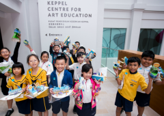 Brand new art center for children opens up at the National Gallery in Singapore